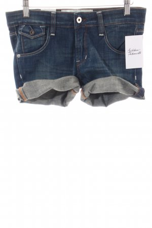 Kuyichi Shorts blau Casual-Look