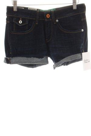 """Kuyichi Shorts """"Candy"""" dunkelblau"""