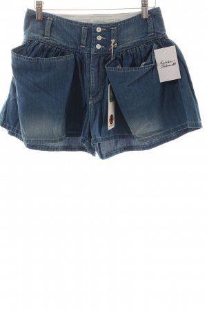 Kuyichi Shorts hellblau Casual-Look