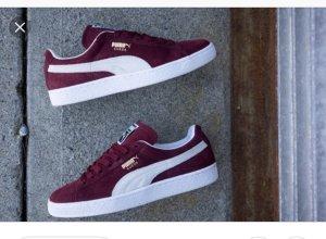 Puma Sneakers donkerrood