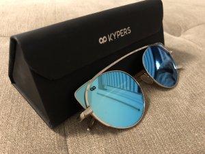 Gafas color plata-azul claro