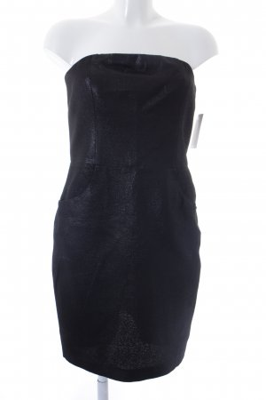 L'Agence Bustier Dress black casual look