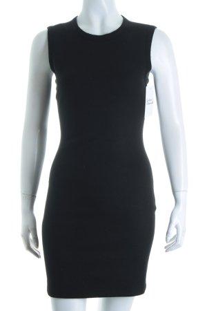 L'Agence Kleid schwarz Eleganz-Look
