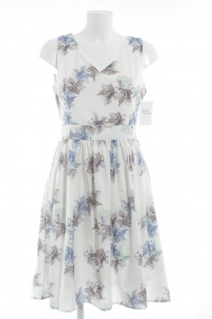 L' alive verbe L.B.C. Midi Dress flower pattern beach look