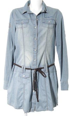 L'Argentina Blouse en jean bleu clair style décontracté