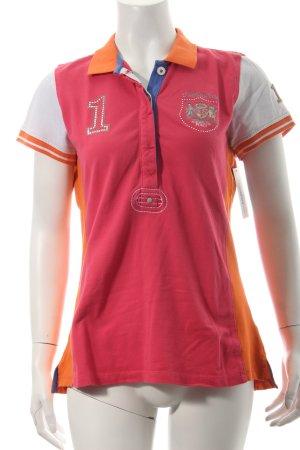 L'Argentina Polo-Shirt mehrfarbig sportlicher Stil