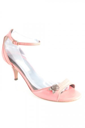 L'Autre Chose High Heel Sandaletten himbeerrot Casual-Look
