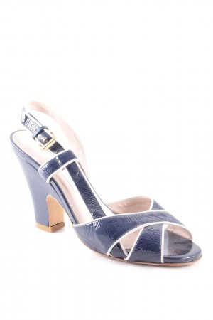 L'Autre Chose High Heel Sandal multicolored wet-look