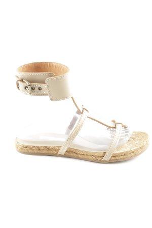 L'Autre Chose Sandalo con cinturino bianco sporco stile casual