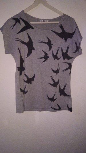 Lesara Camiseta gris
