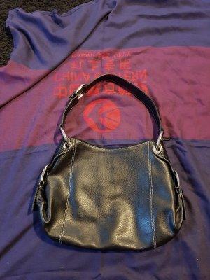 L.credi Handtasche schwarz Schultertasche