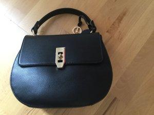 L Credi Handtasche Shopper schwarz neu
