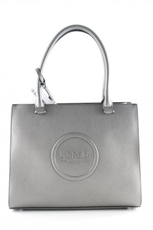 L.credi Bolso barrel gris antracita look casual