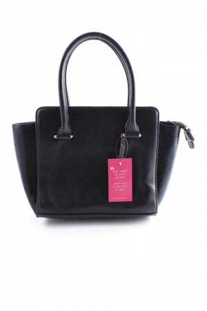 L.credi Bolso barrel negro look casual