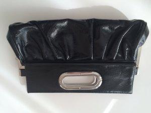 L.CREDI Lack Tasche in schwarz