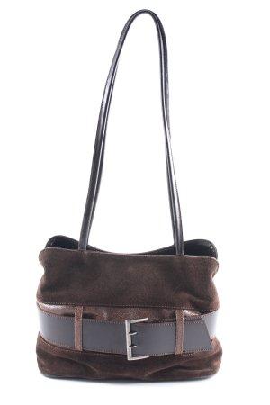 L.credi Shoulder Bag dark brown casual look
