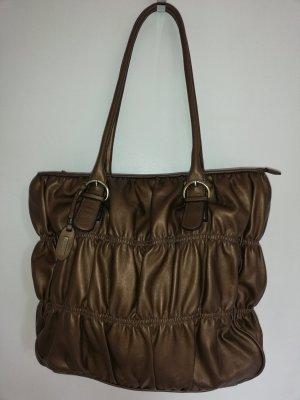 L.credi Shopper bronze-colored-dark brown