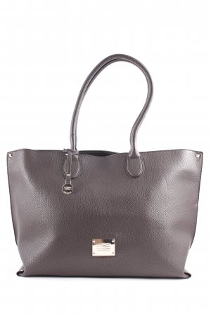 L.credi Shopper donkerbruin-goud casual uitstraling