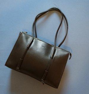 L.credi Shopper black leather