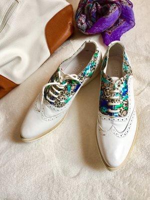 L'Estrosa Damen neue Leder Schuhe Wanderschuhe 38 Gr
