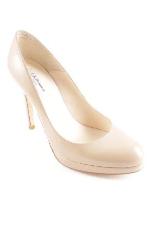 L.k. bennett High Heels taupe Elegant