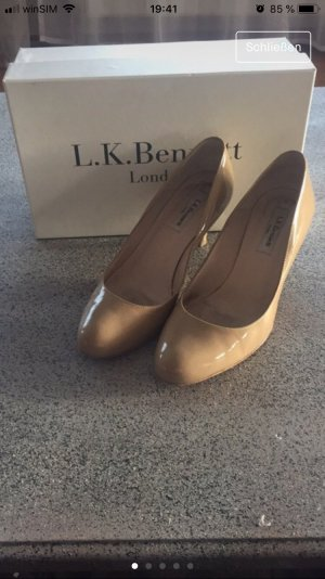 L.K. Bennett London Kate Middleton Pumps nude 37,5