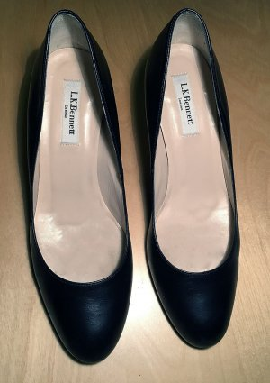 "L.K. Bennett London, ""Sabira"", Pumps, schwarz, 39, so gut wie neu"