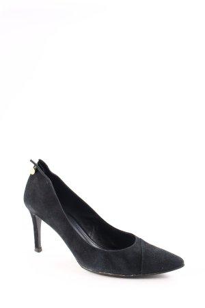 L.k. bennett Spitz-Pumps schwarz Elegant