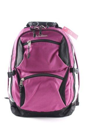 L. L. Bean Rucksack pink schwarz