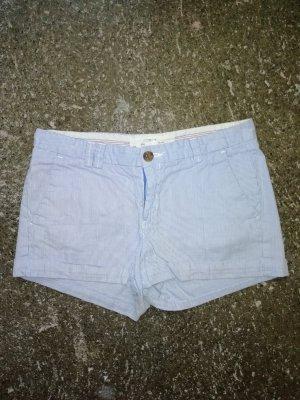 L.O.G.G. Hotpant blau/weiß gestreift H&M 36