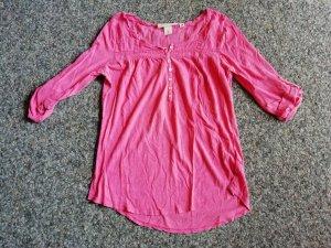 L.O.G.G. Shirt dreiviertel Arm pink H&M L