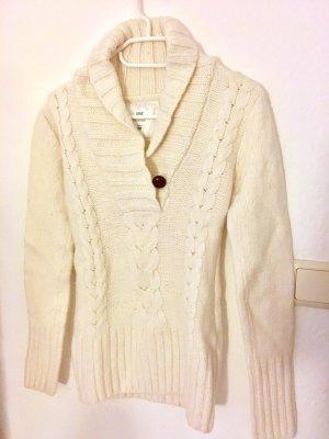 H&M L.O.G.G. Jersey trenzado blanco puro