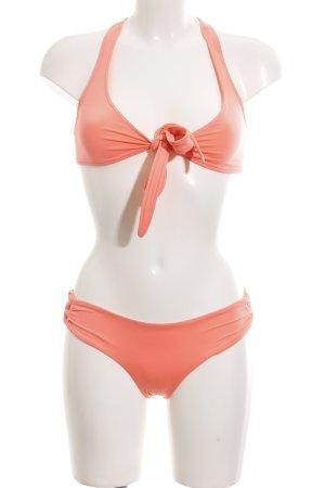 L*space Bikini hellrot schlichter Stil