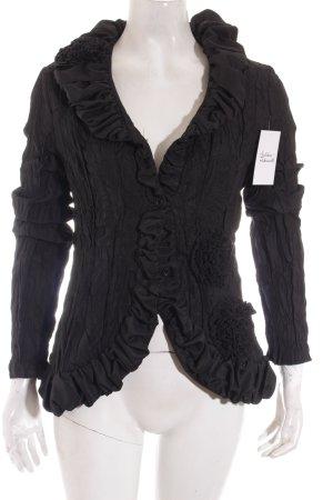 L33 Veste courte noir style extravagant