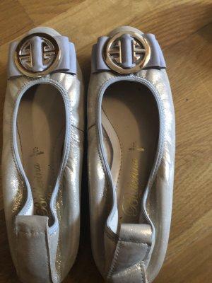 Pretty ballerinas Slingback Ballerinas silver-colored
