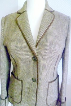 la belle Wool Blazer brown-beige wool