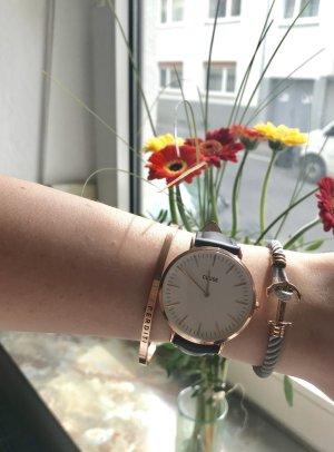 La Bohème Cluse Uhr Roségold schwarz