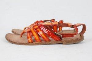 Bottega Sandalias romanas multicolor Cuero