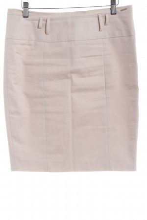La city High Waist Rock hellbeige Business-Look