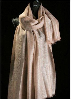 Bufanda de cachemir beige Cachemir