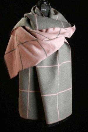 & Chal rosa-gris Lana