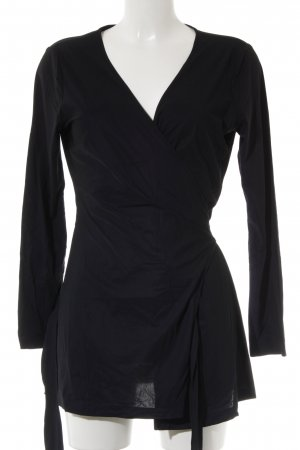 La Dress Wickeljacke schwarz Casual-Look