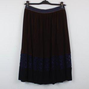 la fée maraboutée Falda plisada multicolor tejido mezclado