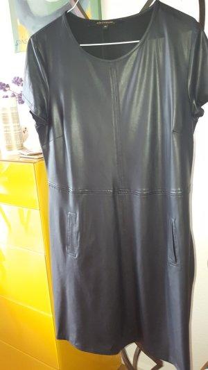 la fée maraboutée Leren jurk zwart