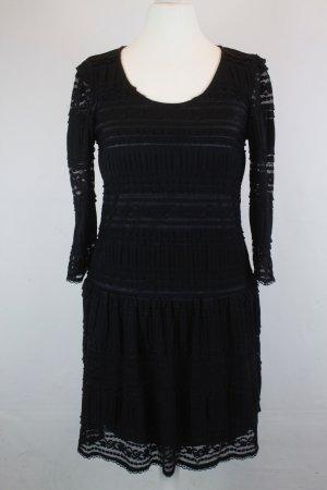 LA FEE MARABOUTEE Kleid Spitzenkleid Gr. 36 schwarz (E/MF/SC)
