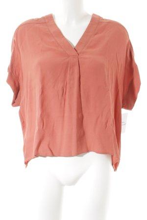 la fée maraboutée Slip-over blouse zalm casual uitstraling
