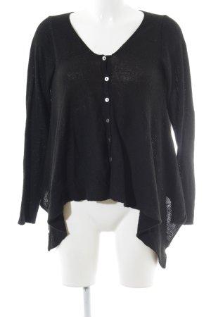 la fée maraboutée Cardigan black casual look