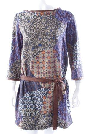 La Fée Maraboutée patterned tunic dress