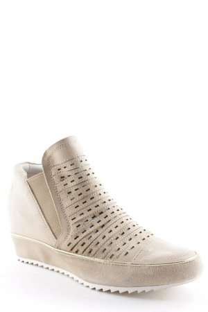 La Femme Ankle Boots cream athletic style
