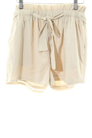 la mahina High-Waist-Shorts wollweiß Casual-Look